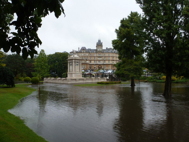 Bournemouth: Central Gardens floodwater starts to recede
