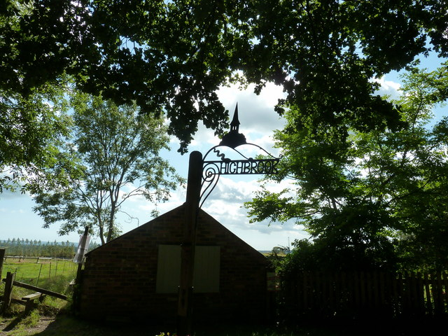 Highbrook village sign