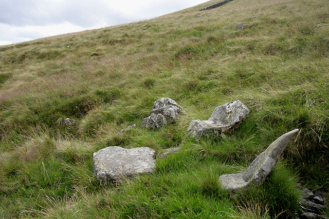 The King's Stone and King's Well at Meaul