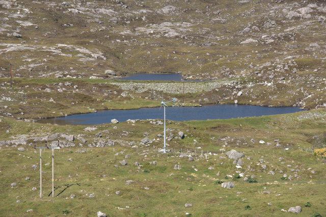 Reservoirs above Tarbert