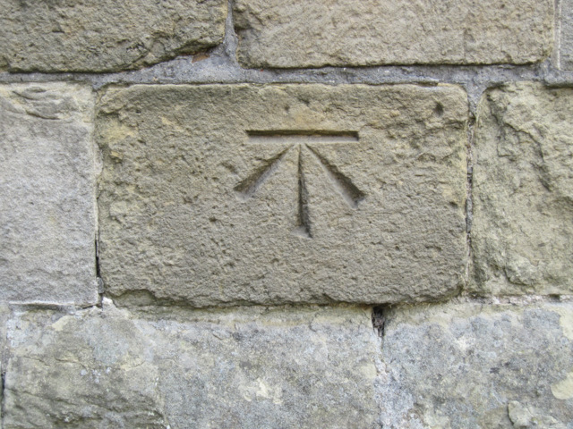 Bench mark on St Michael's, Bempton