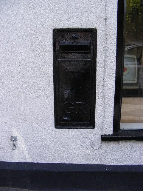 Former George V Postbox