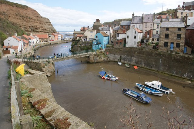 Staithes - Panorama #5 of 5