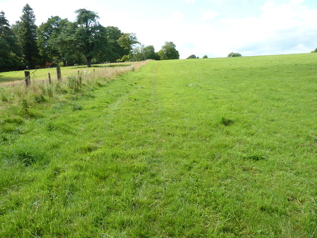 Footpath to Ardingly passing Brook House