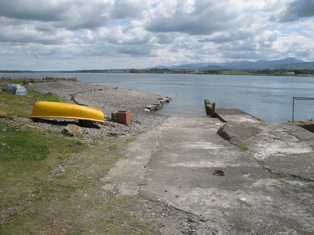 Slipway at Fort Belan