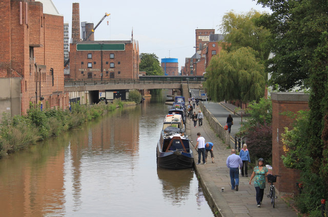 The Shropshire Union Canal at Chester