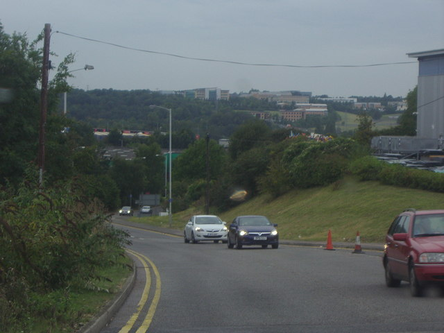 View from Airport Way, Luton