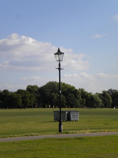 Lamppost, Clapham Common SW4
