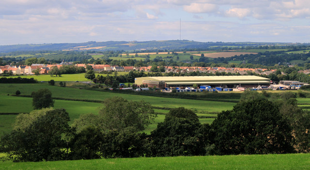 2011 : North west from Whitstone Hill