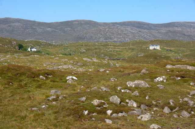 Southern part of Direcleit from Kendebig (Ceann Dibig)