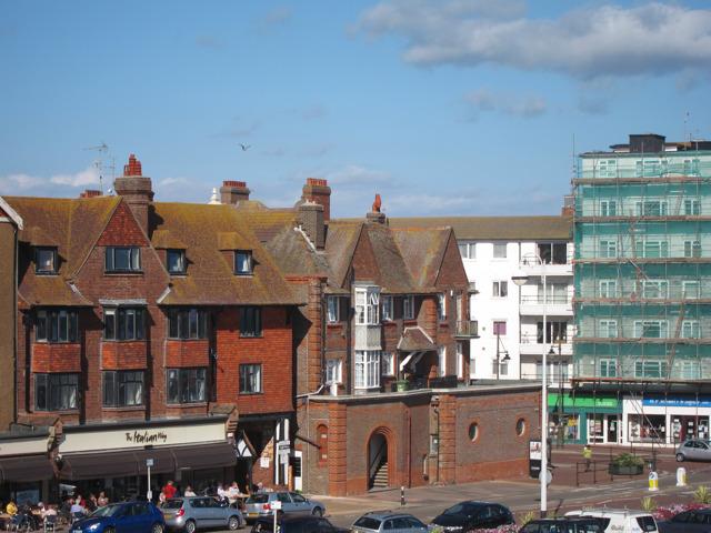 Buildings on Marina