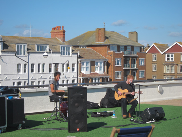 Band on the roof
