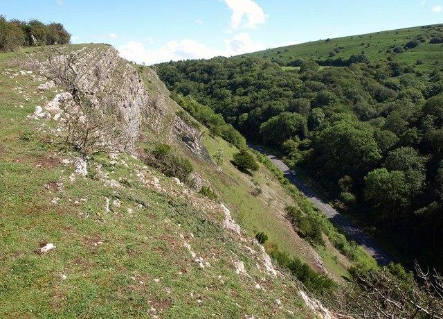 Edge of Burrington Combe