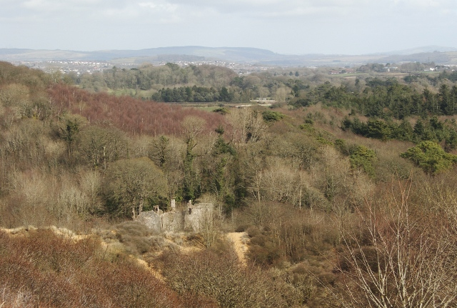 Countryside by Candleston Castle and Merthyr Mawr