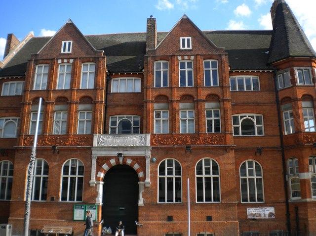 Battersea Library, Lavender Hill SW11