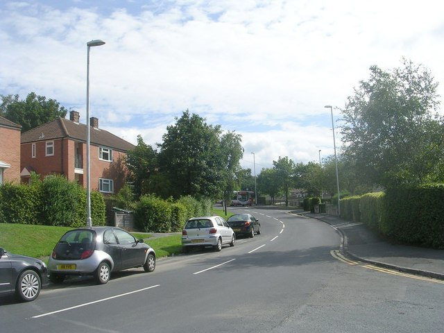 Woodnook Drive - viewed from Haigh Wood Road