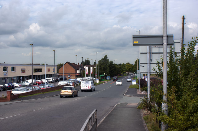 Lunts Heath Road from near the roundabout