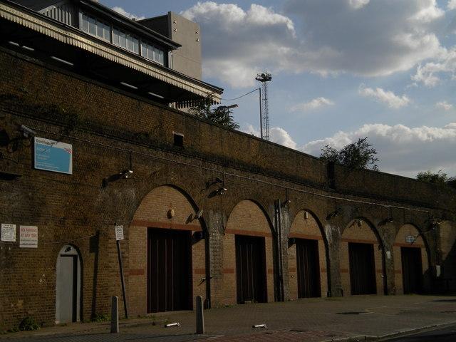 Railway arches, Grant Road SW11
