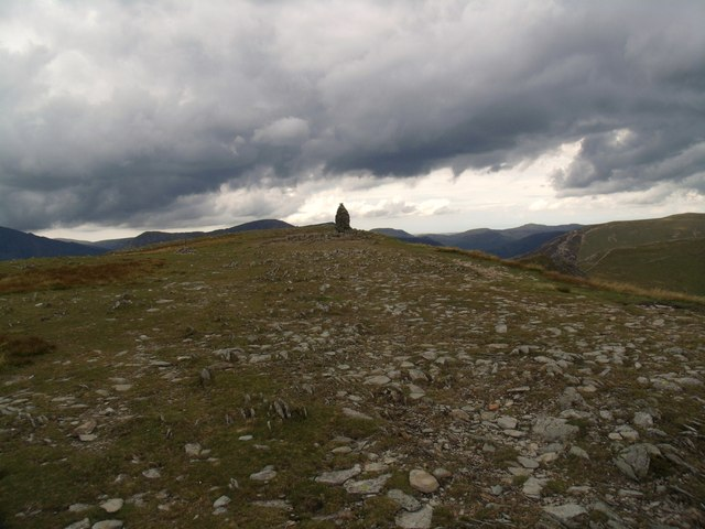 Summit cairn on Dale Head