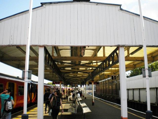 Platforms 1 & 2, Vauxhall Railway Station