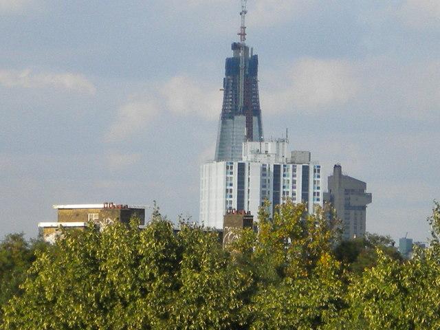 Skyline from Vauxhall Station