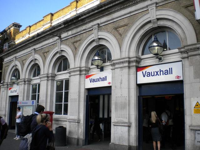 Vauxhall Railway Station, Kennington Lane SW8