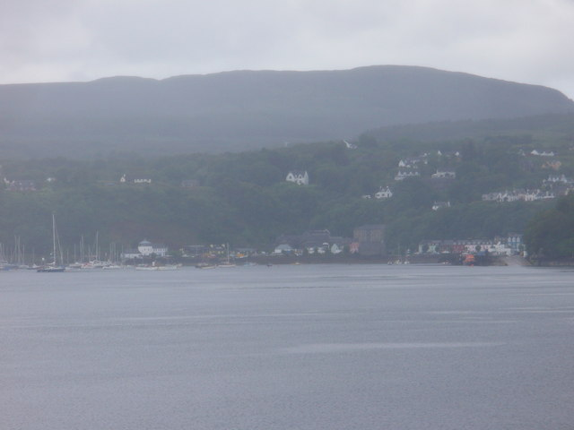 Tobermory from the Sound of Mull