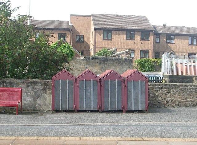 Cycle Lockers - Horsforth Station