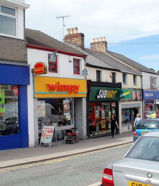 Wimpy and Subway, Caerphilly