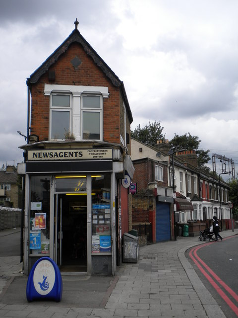 Newsagent, St Loy's Road N17