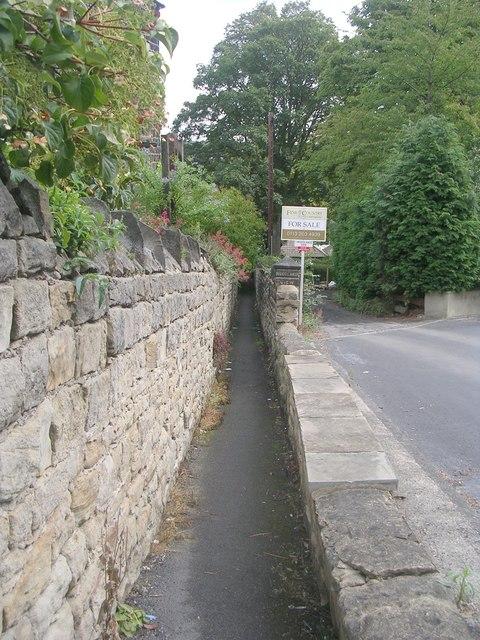 Footpath - Bachelor Lane