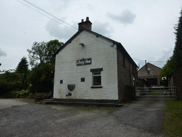 Crag Inn, with stuffed fox