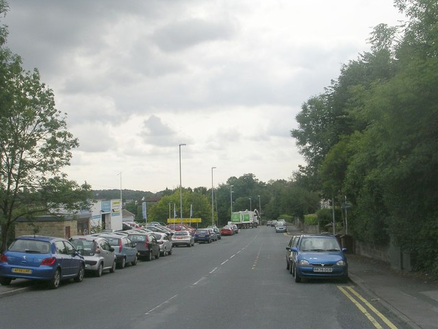 Low Lane - viewed from Troy Road