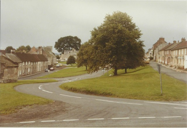 Stamfordham village green in 1984