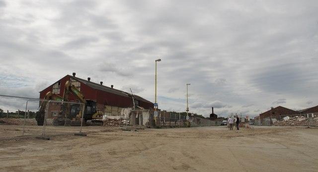 Manuel Works demolition site
