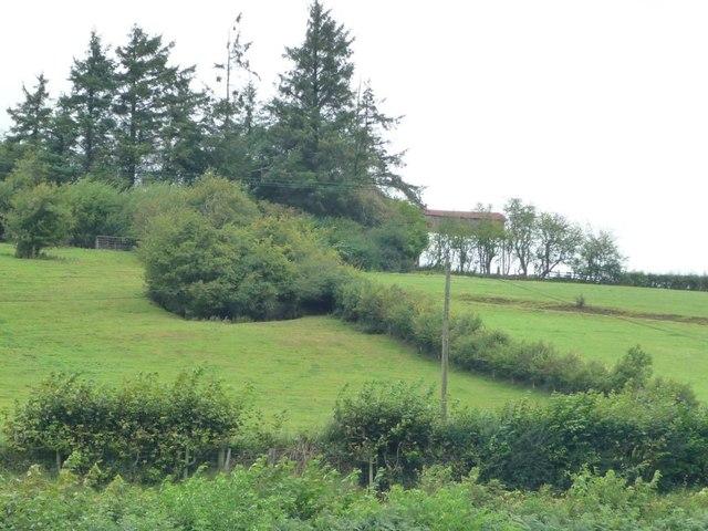 Upper Barn, Y Golfa