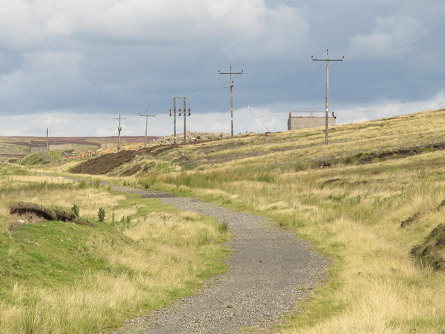 The Weatherhill Incline south of Parkhead station