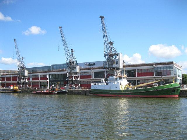 M Shed Museum, Bristol City Docks