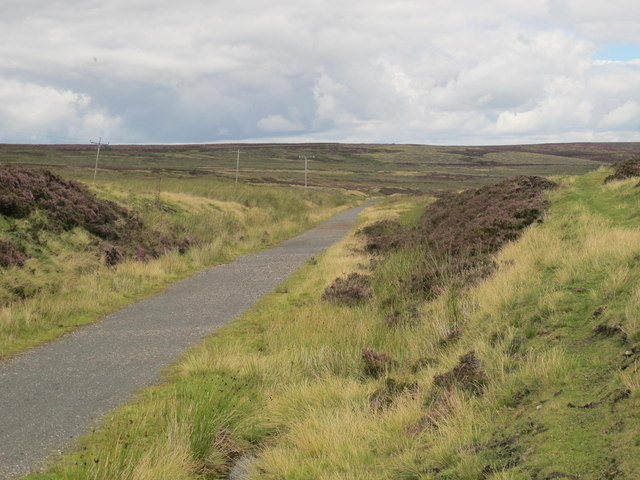 Former railway line from Parkhead to Waskerley
