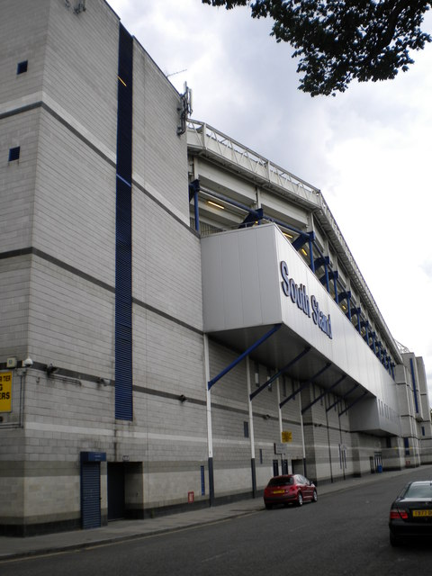 South Stand, White Hart Lane Football Ground, Park Lane N17