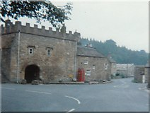 NY9650 : Abbey Gatehouse  in Blanchland by peter robinson