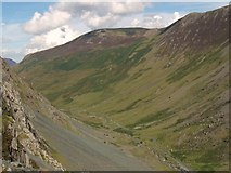 NY2114 : Honister Pass by Euan Nelson