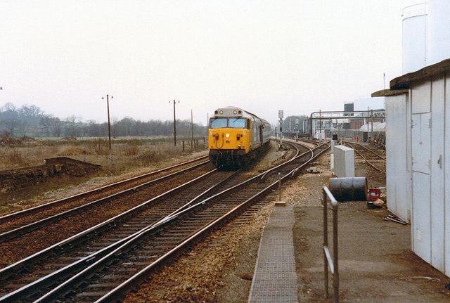 Class 50 at Bromsgrove, 1984