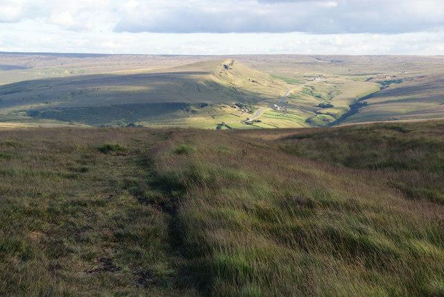 Footpath on Burne Moss