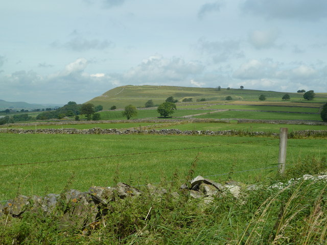 Over the fields to Chelmorton Low