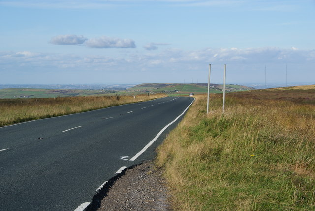 New Hey Road on Deanhead Moss