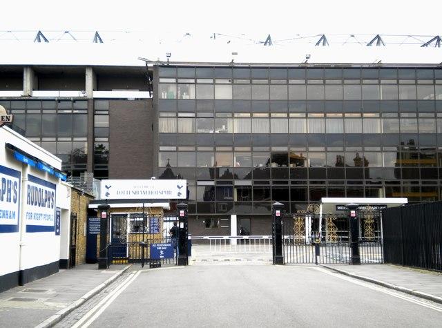 White Hart Lane Football Stadium, Bill Nicholson Way N17
