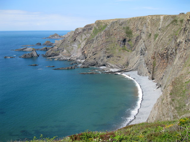 Warren Cliff and beach