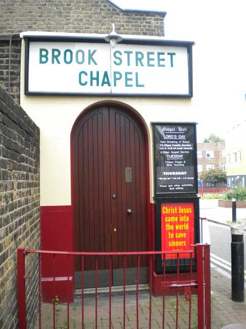 Brook Street Chapel, Brook Street N17