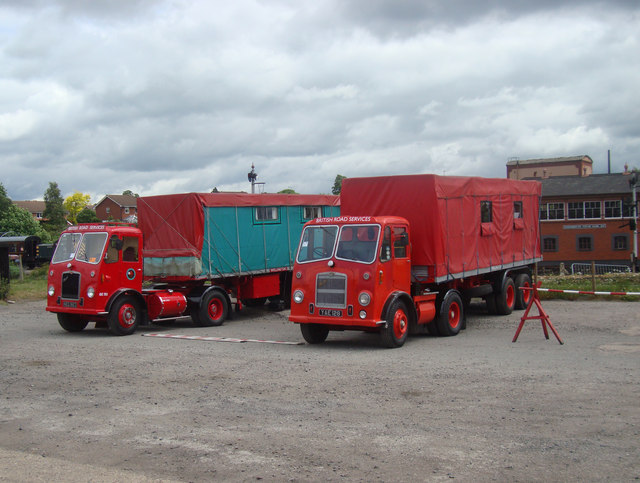 British Road Services Lorries at Kidderminster